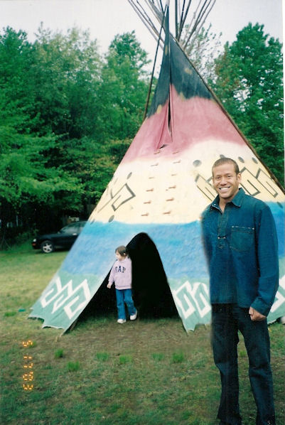 Gig Schmidt at Rancocas Indian Arts Festival, May 17, 2003