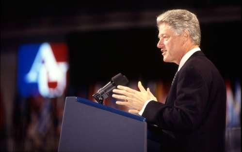 Bill Clinton at American University, September 9, 1997
