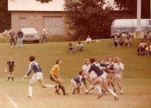 Bucknell Soccer, Headball, Fall 1979