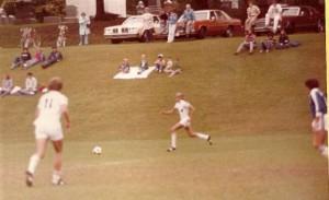 Bucknell Soccer, Running, Fall 1979