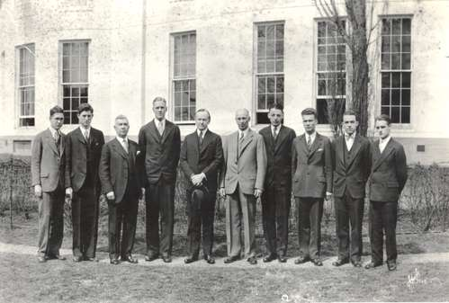 Calvin Coolidge at American University, 1922