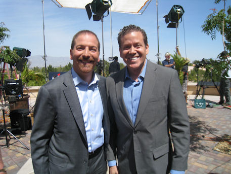 Chuck Todd and Gig Schmidt, Rand Paul Rally, April 11, 2015