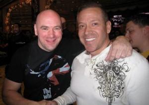 Dana White UFC President 40yo MGM Media Event For UFC 108 Dec 29 2009