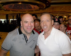 Dana White UFC President and Gig Schmidt, UFC 162 Press Conference, MGM, July 4, 2013