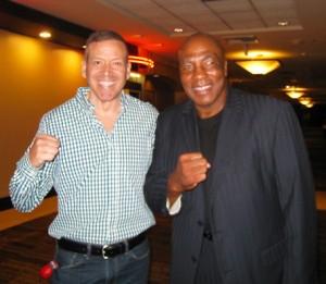 Earnie Shavers and Gig Schmidt LVH Las Vegas August 17, 2013