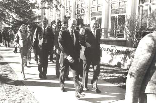 Gerald Ford at American University, 1978