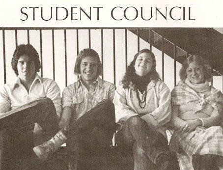Gig Schmidt, MFS Student Council Vice President, 1978-1979