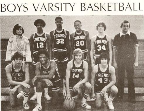 Gig Schmidt, MFS Varsity Basketball, 1978-1979