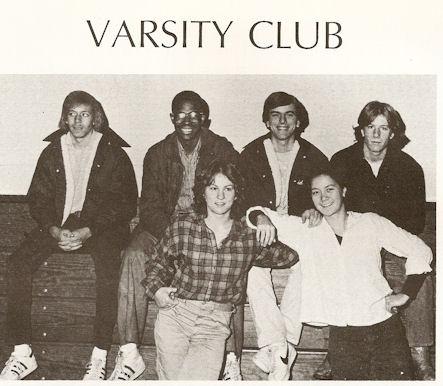Gig Schmidt, MFS Varsity Club President, 1978-1979