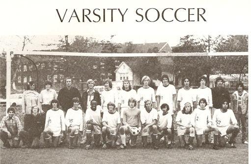 Gig Schmidt, MFS Varsity Soccer Captain, 1978