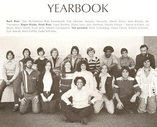 Gig Schmidt, MFS Yearbook Club
