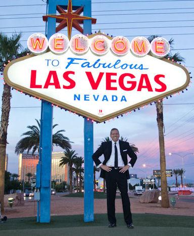 Gig Schmidt, Welcome To Las Vegas Sign, November 11, 2014