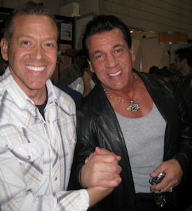 Gig Schmidt and Chuck Zito, CES 2012, LV Convention Center, Jan 12, 2012