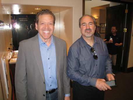 Gig Schmidt and Jon Ralston, Rand Paul Rally, April 11, 2015