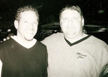 Gig Schmidt and Philadelphia Phillies 1st Baseman Jon Kruk, New Jersey Restaurant Bar & Night Club, 1990's