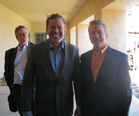 Gig Schmidt and Senator Rand Paul (R)KY Presidential Rally, April 11, 2015