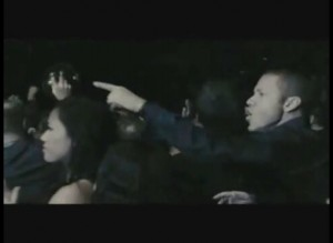 Gig Schmidt in Movie Rocky Balboa, Pointing, Mandalay Bay, Dec 2005