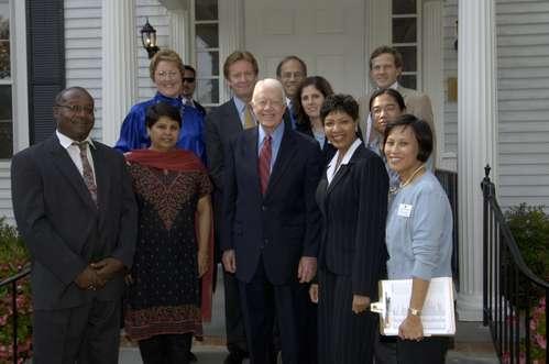 Jimmy Carter at American University, December 9, 1992