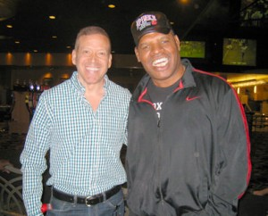 Leon Spinks and Gig Schmidt LVH Las Vegas August 17, 2013