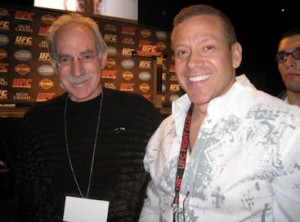 Marc Ratner UFC VP of Development was when I met him Nevada Fight Commissioner MGM UFC 108 Weigh Ins Jan 1, 2009