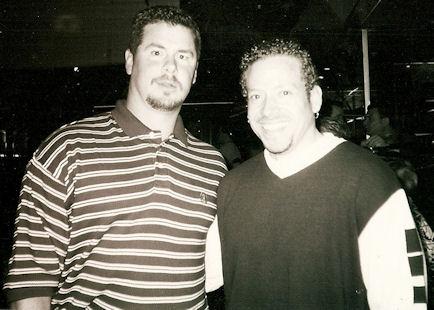 Mitch Williams Philadelphia Phillies Relief Pitcher and Gig Schmidt, New Jersey Restaurant Bar & Night Club, 1990's