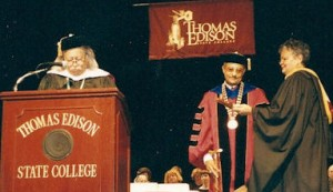 Oct 13, 2001 Honorary Doctorate with Congresswoman Bonnie Watson (3)