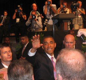 President Obama and Senator Harry Reid, Aria, July 8, 2010 (26)