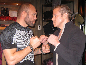 Randy Couture and Gig Schmidt, Affliction, Hard Rock Hotel, Feb, 5, 2011 (3)