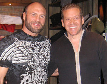Randy Couture and Gig Schmidt, Affliction, Hard Rock Hotel, Feb, 5, 2011