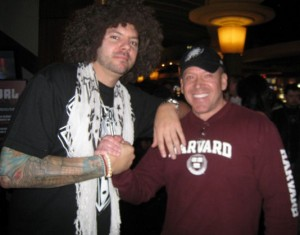Skyscraper Co Owner of Tapout Clothing WEC Pearl at the Palms Dec 19, 2009