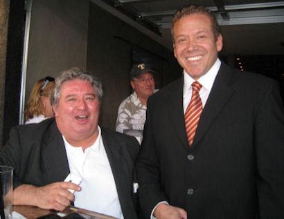 Steve Evans, Las Vegas Planning Commission, Ward 3 and Gig Schmidt, Downtown Fremont St, Sept 29, 2010