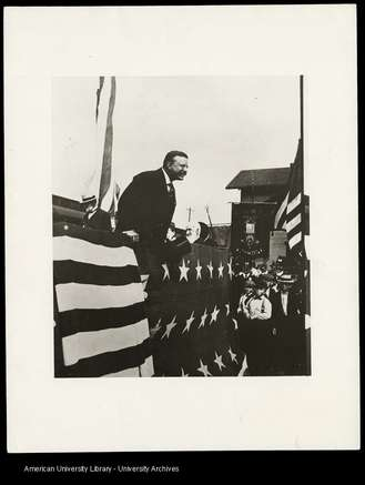 Theodore Roosevelt at American University, May 14, 1902