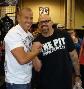 UFC Trainer and Best Friend of Chuck Liddell the Former UFC Light Heavyweight Champion Mandalay Bay July 11 2009