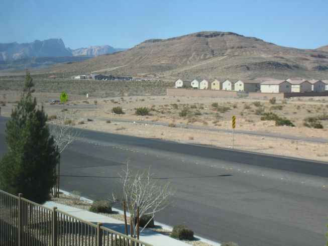 View of mountains from MBR