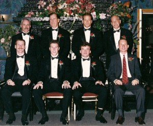 Gig Schmidt, 1995 Southern New Jersey Soccer Hall of Fame Induction Ceremony, Class of 1995, The Woodbine Inn, Pennsauken, NJ, Nov 19, 1995