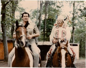 Wayne Newton and Dad, NJ 1980's scanned coppy
