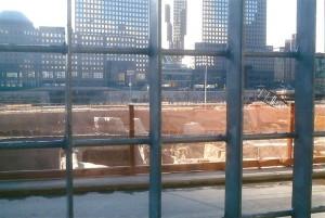 World Trade Center Towers Empty Lots Sept Oct 2003