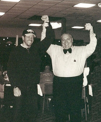 Gig Schmidt and Boxing Referee Joe O Neill, Pa, 1999