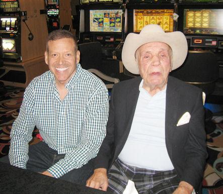 Gig Schmidt and Jake LeMatta The Raging Bull, LVH Las Vegas, August 17, 2013