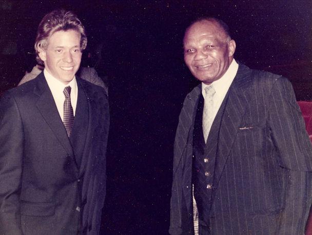 Gig Schmidt and Jersey Joe Walcott, Atlantic_City, NJ, Approx 1982