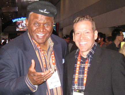 George Wallace and Gig Schmidt, CES 2013, Las Vegas Convention Center, January 9, 2013