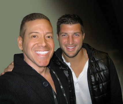 Gig Schmidt, Tim Tebow, CES 2014, Las Vegas Convention Center, January 8, 2014