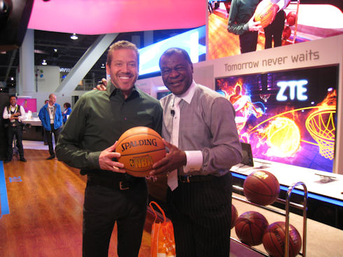 Gig Schmidt and Calvin Murphy, CES 2015, January 9, 2015