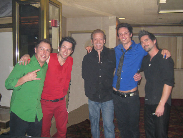 Gig Schmidt and Recycled Percussion, Tropicana Hotel, November 23, 2010