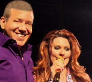 Gig Schmidt and Shania Twain The Colosseum at Caesars Palace, LV, NV June 1, 2014