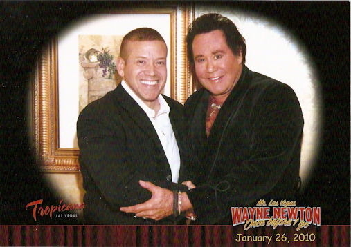 Gig Schmidt and Wayne Newton, Once Before I Go Show, Tropicana Hotel, Jan 26, 2010