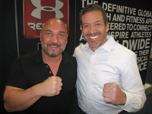 Jay Glazer and Gig Schmidt, CES 2015, Sands Convention Center, January 7, 2015