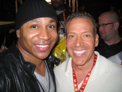 LL Cool J and Gig Schmidt, January 8, 2013