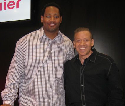 Robert Keith Horry Jr. and Gig Schmidt, CES 2012, LV Convention Center Jan 10, 2012 -2