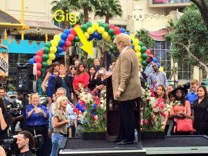 Gig Schmidt, Vegas Mayor, Hell's Kitchen, Caesers Palace, Oct 7, 2014